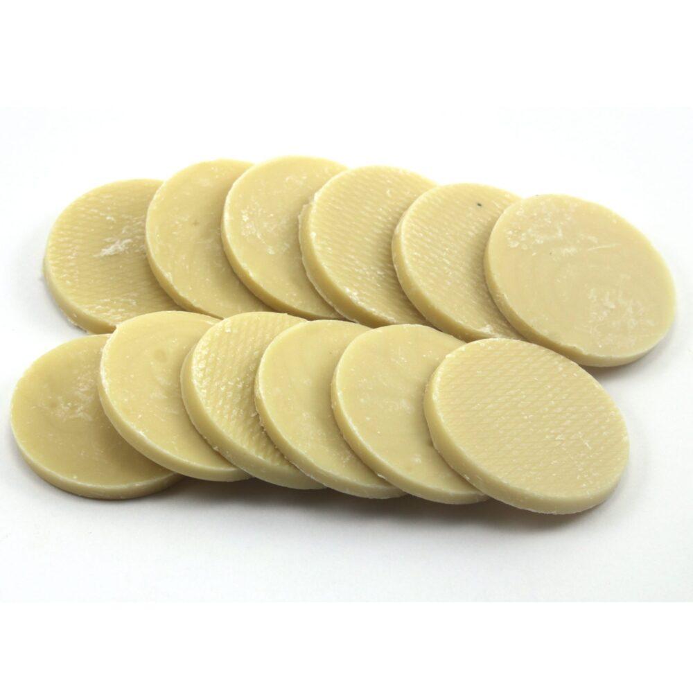 מטבעות שוקולד לבן